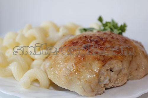 рецепты блюд из куриных окорочков фото в духовке