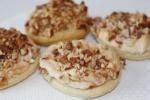 Печенье с прослойкой безе и арахисом