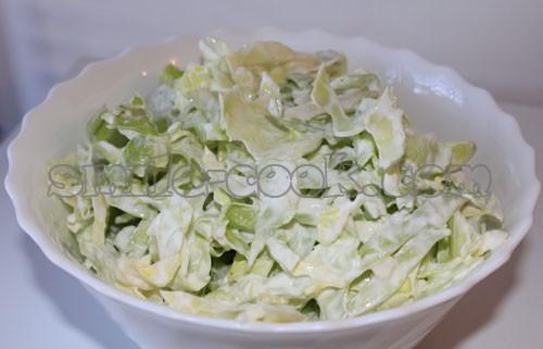 Блюда из вареной капусты белокочанной