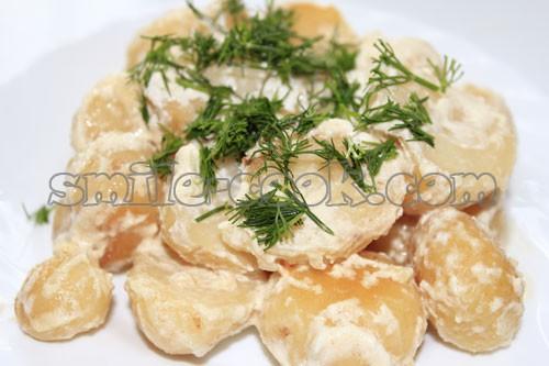 Блюда из молодого картофеля рецепт