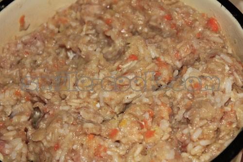 Рецепт вкусных голубцов с рисом и фаршем с пошагово в