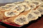 Закусочные блины с грибами