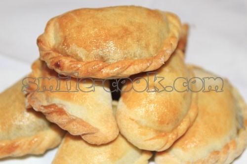 пирожки с печенью
