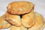 Пирожки с печенью и грибами