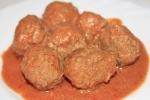 Мясные шарики в томатно-сметанном соусе в мультиварке