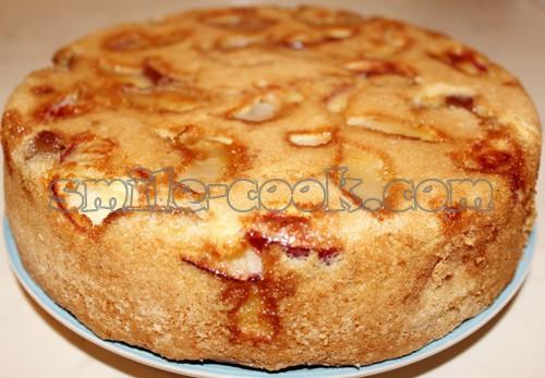 яблочный шарлотка рецепт