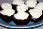 Вегетарианские (постные) шоколадные кексы (маффины)