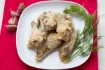 Куриные крылья в чесночном соусе