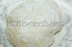 Заварное тесто для вареников