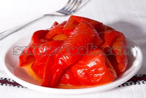 На зиму из болгарского перца