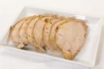 Свинина, запеченная с чесноком