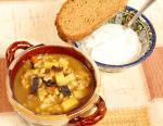 Грибной суп с перловкой (крупеня)