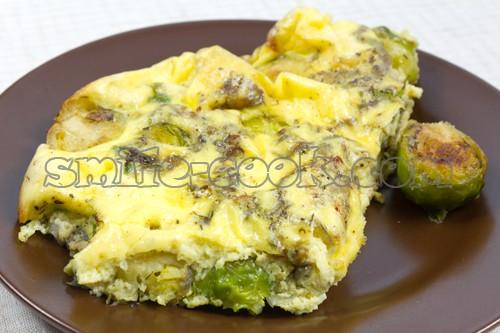 омлет в духовке рецепт с капустой