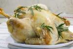Курица в соленом тесте
