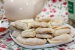 Песочное печенье с ореховой начинкой