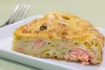 Рыбный пирог с лососем