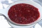 Клюквенно-имбирный соус