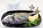 Рыба, запеченная с розмарином