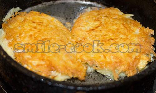 куриные отбивные с картофелем