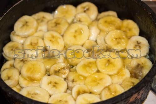 бананы с карамелью
