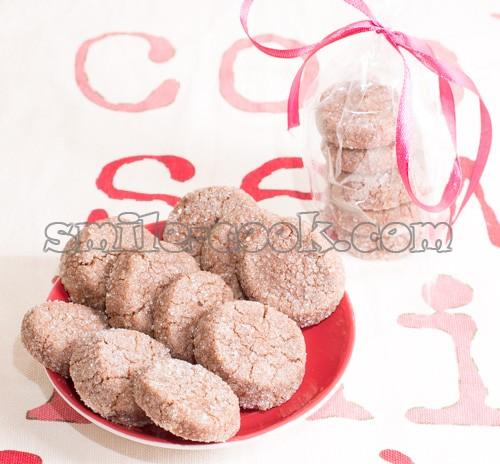 "Печенье ""Бриллиант"" с какао"