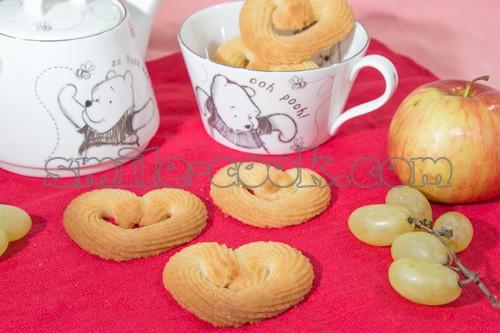 фигурное песочное печенье