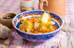 Консервированный салат из кабачков