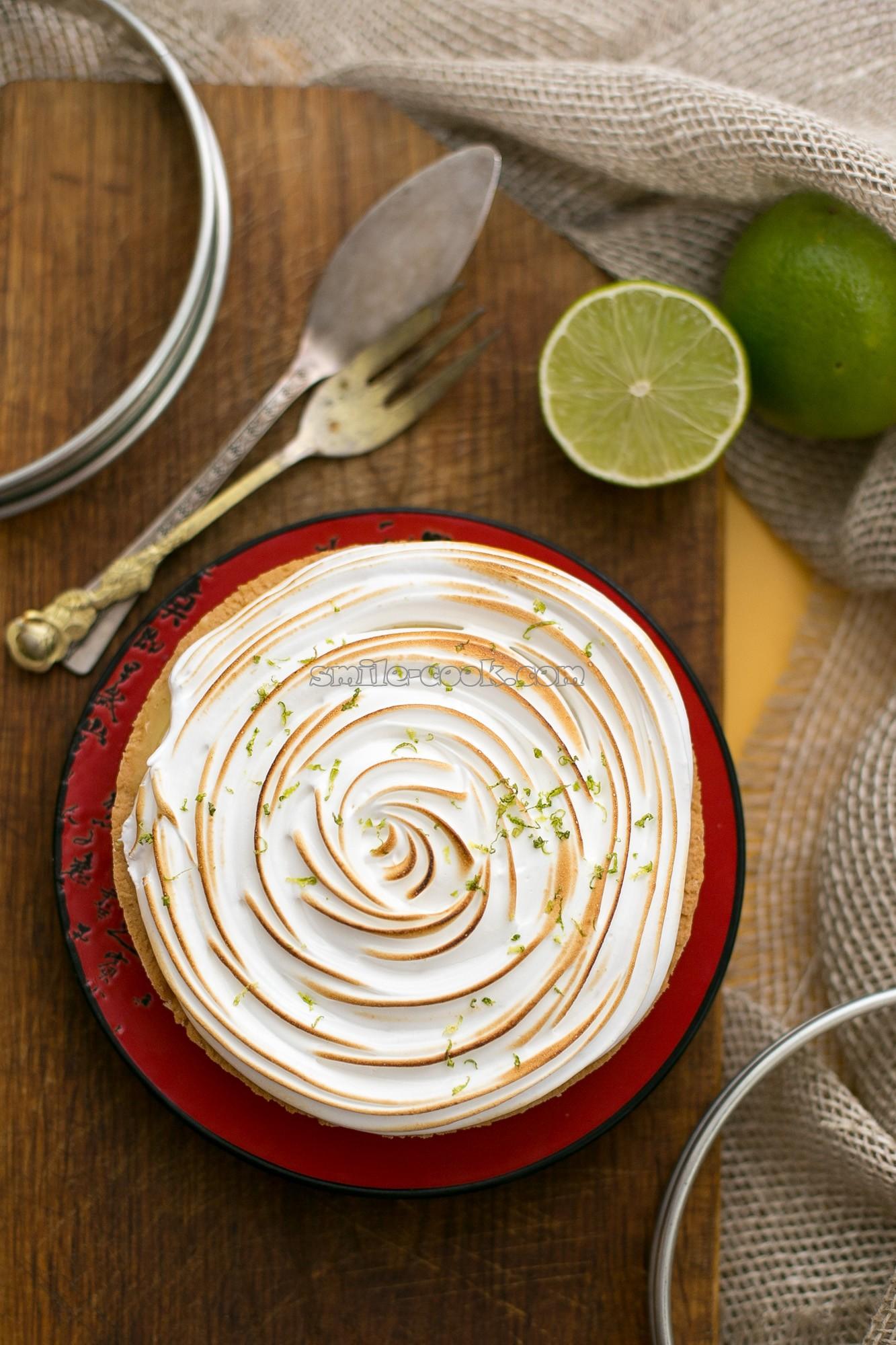 лимонная тарта